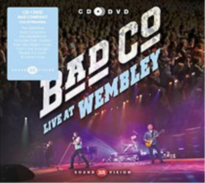 Bad Company-Live at Wembley  CD with DVD NEW