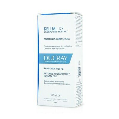 Ducray Kelual DS Anti Dandruff Anti Reccurrence Treamtent Shampoo 100ml
