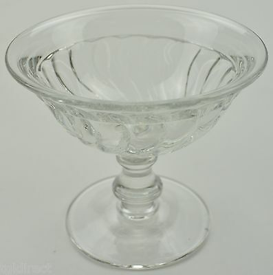 """Fostoria Crystal Sherbet Dish Colony Pattern 3.5"""" Tall Collectible Glassware"""