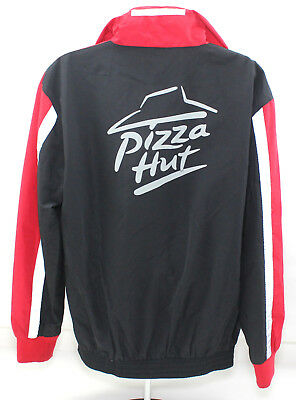 Pizza Hut Medium Pullover 1/4 Zip Hooded Nylon Jacket - Barco Uniforms