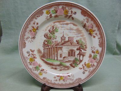 Vintage Japan (Pre WWII) Brown & Ritchie Mount Vernon Plate- BRW1
