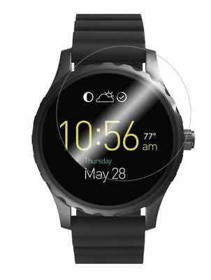 4x Screen Protector Full cover of the glass for Fossil Q Marshal SmartWatch