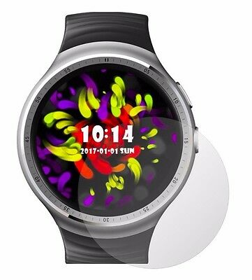 4x Screen Protector Full cover of the glass for Lemfo LES1 SmartWatch