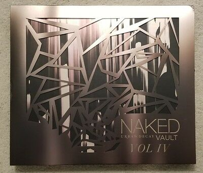 NEW Authentic Genuine Urban Decay Naked Vault 4 Volume IV Eyeshadow Palette