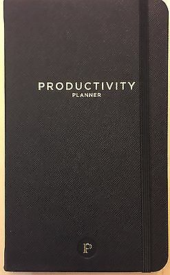 """Productivity Planner - Daily Planner - Non Dated 5 x 8"""" Intelligent Change"""