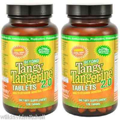 David BTT Beyond Tangy Tangerine Tablets 2 Pack by Youngevity
