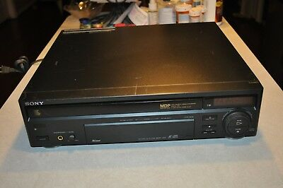 Sony MDP-455 Laserdisc LD CD CDV Player For Parts or Repair