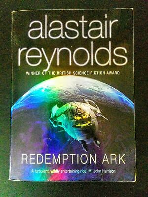 Redemption Ark by Alastair Reynolds [Epic Sci-Fi Adventure Paperback Book]