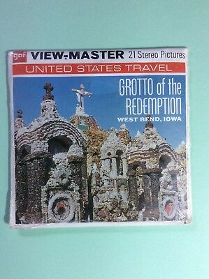 Grotto of the Redemption Sealed Unopened View Master Packet A541 West Bend IA