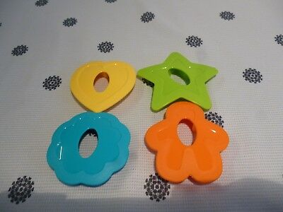 Tupperware Cookie Biscuit Cutters set of 4  New!