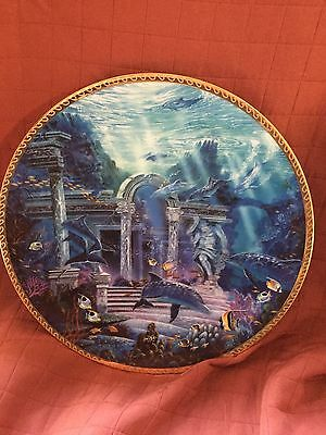 Secret Sanctuary Undersea Visions Plate Hamilton Collection