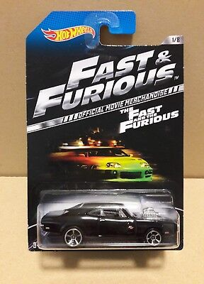 Hot Wheels 2013 FAST AND FURIOUS '70 DODGE CHARGER R/T THE FAST AND THE FURIOUS