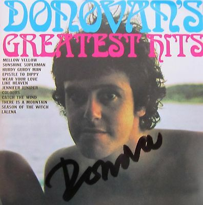Donovan Autogramm autograph signiert signed auf CD Cover Greatest Hits