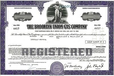 The Brooklyn Union Gas Company, 6 1/4% First Mortgage Bond due 1992 (40.000 $)