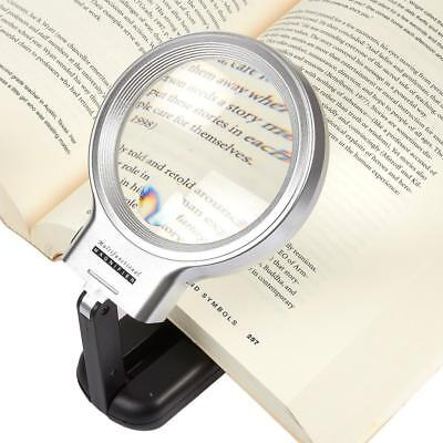 3X Pocket Folding Handheld Magnifying Glass Reading Jewelry Magnifier Loupe