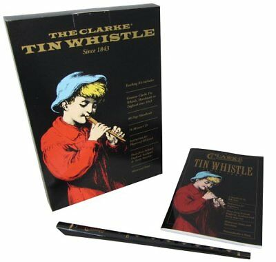 Clarke WTCD D Whistle set book CD