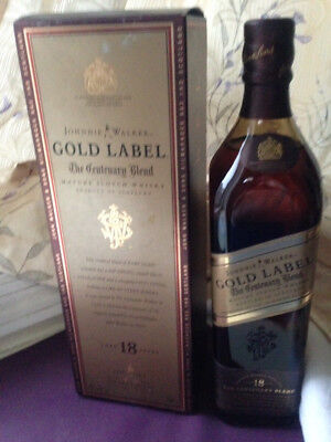 Johnnie Walker Gold Label 18 Years 750ml centenary blend limited edition