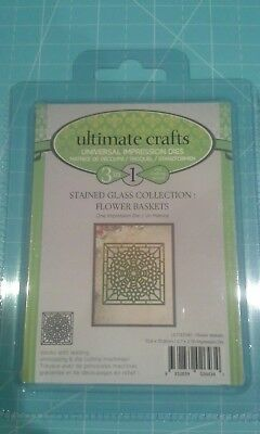 Ultimate crafts metal cutting die Stained glass collection Flower baskets
