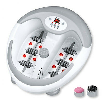 Beurer FB50 Luxury Foot Bath Spa With Water Heater Vibration Bubble Massage
