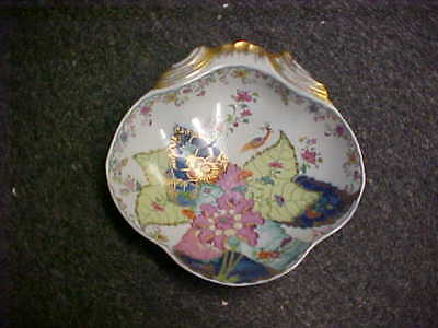 "Mottahedeh Tobacco Leaf 8 3/8"" Shell Shaped Dish"