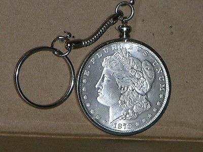 Novelty Morgan 1878CC Dollar Key Chain (READ DESCRIPTION BEFORE PURCHASE)