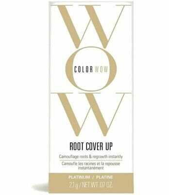 Color Wow Root Cover Up Black 2.1g Hair Root Touch -Up Colour