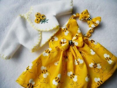 """Doll Dress For 14"""" American Girl Wellie Wishers CHR28"""