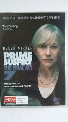 Prime Suspect - The Final Act : Series 7 [ 2 DVD Set ] NEW & SEALED, Region 4
