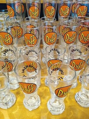 The Simpsons Exclusive Universal Studios Duff Beer Collectible Shot Glass
