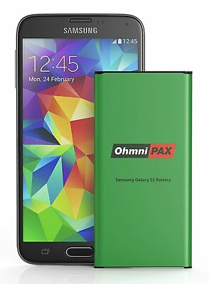 OhmniPax || Replacement Battery || Samsung Galaxy S5 || 2800mAh || Brand NEW ||