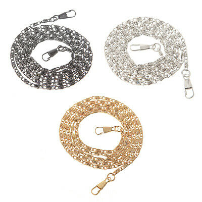 120cm Replacement Purse Chain Strap Metal Handle Shoulder Crossbody Handbag Bag