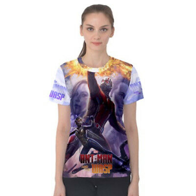 Ant-Man and the Wasp Tee Fullprint Polyester Tshirt New Women's T-Shirt