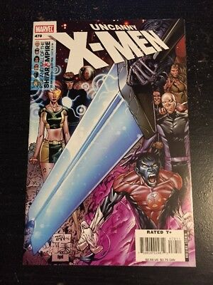 Uncanny X-men#479 Incredible Condition 9.4(2006) Billy Tan Art, Wow!!
