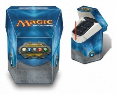 MAGIC Mtg DECK BOX COMMANDER Ultra Pro - Blue - Blu