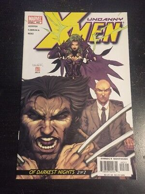 Uncanny X-men#443 Incredible Condition 9.4(2004) Larroca Art!!