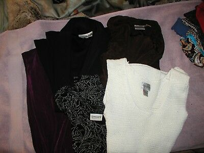Lot of Chicos size 2 tops and jackets and size 1 pant