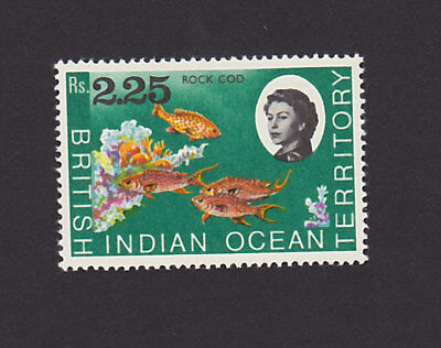 British Indian Ocean Territory 30 VF MNH Fish