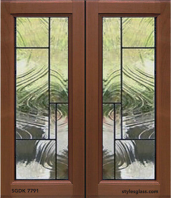 Kitchen Cabinet Stained Glass Door inserts for New & existing Doors