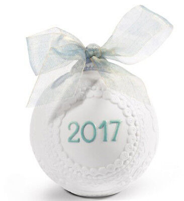 Lladro Porcelain 2017 Christmas Ball Annual Ornament 18424 *NEW IN BOX*