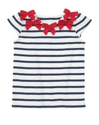 NWT GYMBOREE Striped T Shirt Top Parisian Afternoon 12 18 24 mo 2T 3T 4T