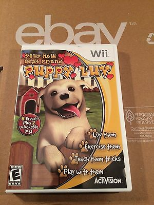 Puppy Luv Your New Best Friend  Nintendo Wii complete