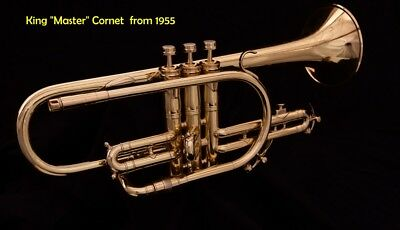 Pro King MASTER Cornet from 1955: Total Restore