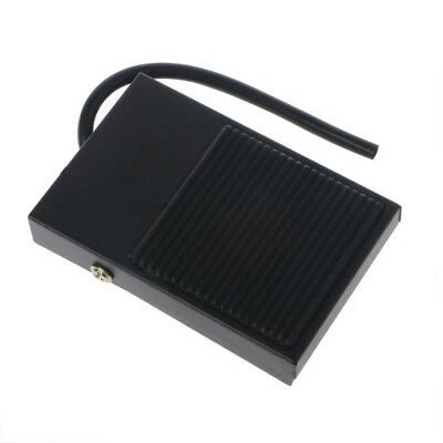 AC 250V 10A Heavy Duty Momentary Electric Power Metal Antislip Foot Pedal Switch
