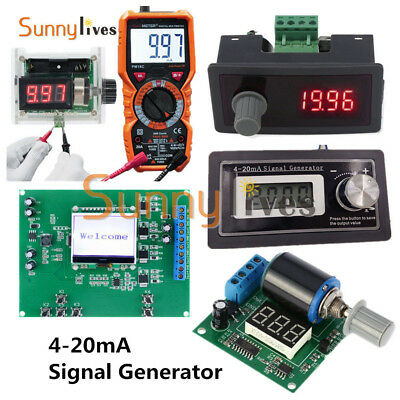 15V 24V 30V 4-20mA Signal Generator Current Transducer Test PLC Two-wire Output