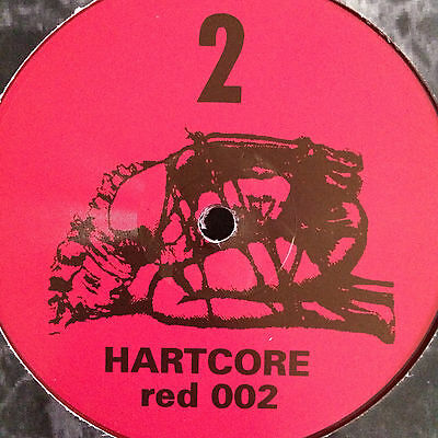 "Hartcore - Untitled (Delirium Red red 002) 1993 Hardcore 12"" Vinyl"