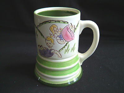 Stangl Pottery Kiddieware Jack & Jill Mug ~ Excellent Condition!
