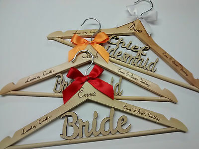 Beautiful Unique Wedding Hangers Bridal Party Bridesmaid Gifts