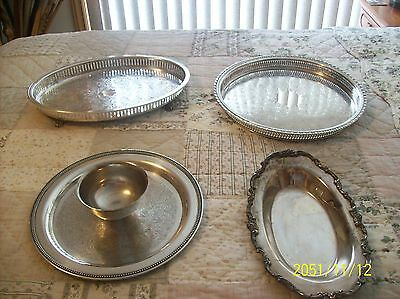 Roger Bros, Oneida, Lunt, Epca  Bristol By Pool Silverplate Antique Mixed Lot