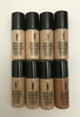 Yves Saint Laurent Encre De Peau All Hours Foundation 10ml **Choose Your Shade**