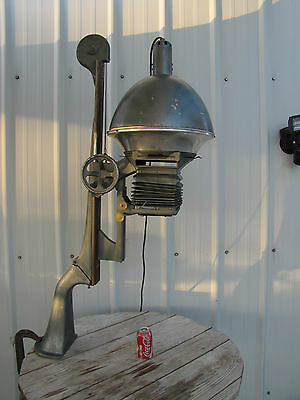 Vintage Antique Photography Photo Enlarger Cast Iron Wood and Bellows